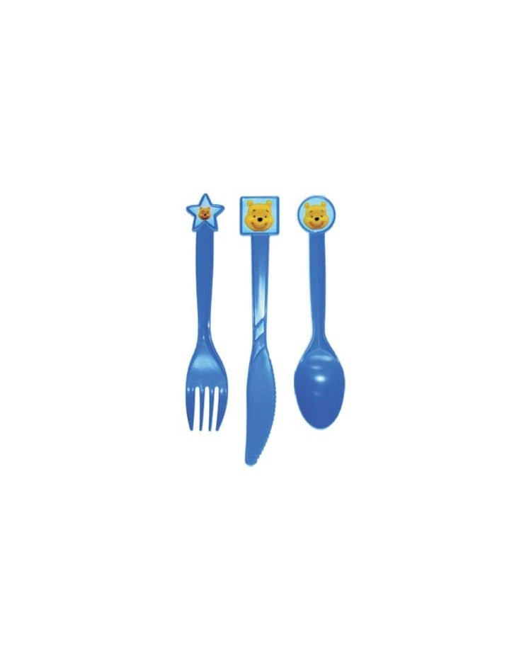 image: Winnie the Pooh party cutlery (12)