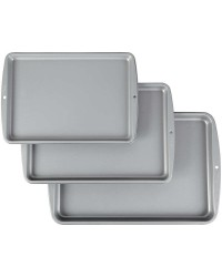 Non stick recipe right cookie sheet pans set 3