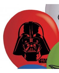 Star Wars party balloons Darth Vader (10)