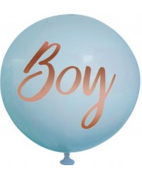 Giant 90cm Balloon BOY suitable for baby shower