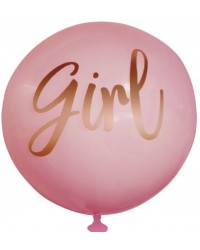 Giant 90cm Balloon GIRL suitable for baby shower