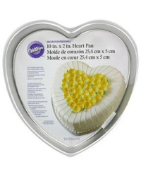 10 inch heart shape cake pan Decorator Preferred by Wilton