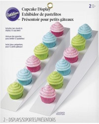 Cupcake display stand ramps set of 2