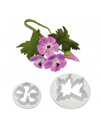 PME Meadows Cranesbill flower cutter set (cherry blossom or Sakura)