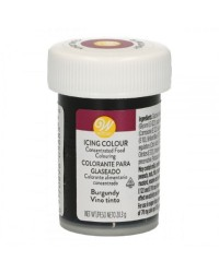 Wilton icing colour Burgundy 1oz 28.3g