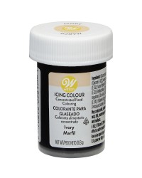 Wilton icing colour Ivory 1oz 28.3g