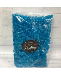 Blue Jelly Beans candy lollies