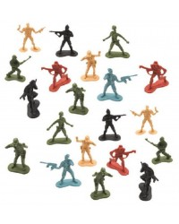Army men soldiers pack of 20 party favour