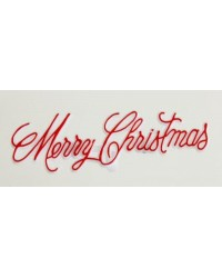 Merry Christmas cake topper plaque lie flat or stand up