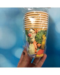 Winnie the Pooh and Friends party cups style no 2