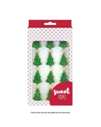 Christmas tree icing decorations by Sweet Tops