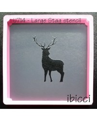 Large Stag Stencil