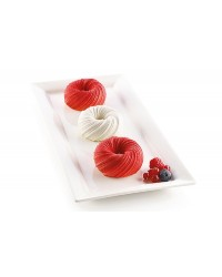 3D SILICONE DESSERT MOULD OR CAKE BAKING PAN Mini Intreccio