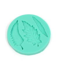 Fern leaves assorted silicone mould