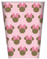 Minnie Mouse Silhouette Party Cups (8)