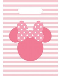 Minnie Mouse Silhouette Party Loot Bags