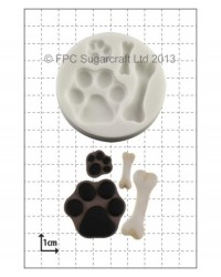 image: Paws & Bones (dog) silicone mould