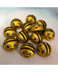 Bumblebee Bees foil wrapped chocolates pack of 12