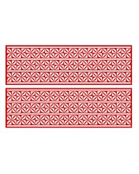 A3 Edible icing image sheet Tongan Triple panel Red by ibicci