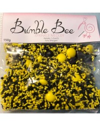 Sprinkle Medley Bumblebee (Yellow and Black) 150g