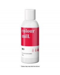 100ml XL bottle Colour Mill Oil Based Food Colouring RED
