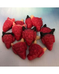 Red Devils Gummy Candy lollies