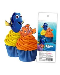 Finding Dory and Nemo pack of 16 wafer paper cupcake toppers