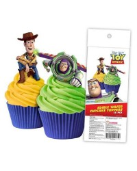 Toy Story pack 16 wafer paper cupcake toppers