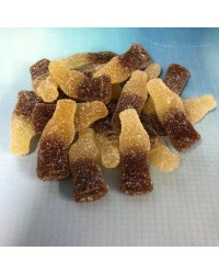 Sour Cola Bottles Gummy Candy lollies