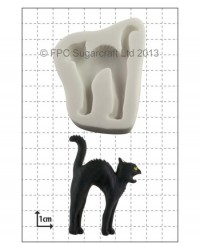 image: Black Cat silicone mould