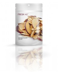 Fresh As freeze dried fruit Nectarine slices