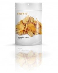 Fresh As freeze dried fruit Golden Peach slices