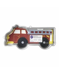 Firetruck Fire engine cake pan Makes great truck and construction vehicle too