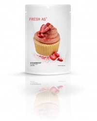 Fresh-As real fruit icing mix Strawberry (vegan friendly)