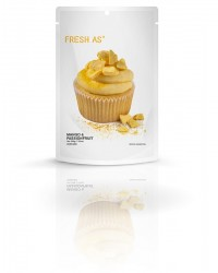 Fresh-As real fruit icing mix Mango and Passionfruit (vegan friendly)