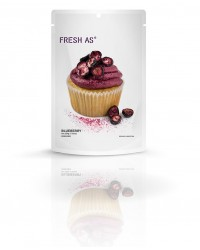 Fresh-As real fruit icing mix Blueberry (vegan friendly)