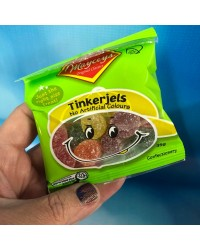 Tinkergels small jube candy lollies by Mayceys