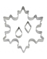 Large Snowflake cookie cutter with mini eyelet cutters