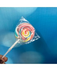 Pastel Rainbow SWIRLY LOLLIPOP SMALL (GREAT FOR DRIP CAKES)