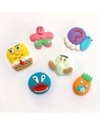 Sugar icing decorations Spongebob Squarepants and friends (12)