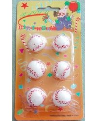 image: Softball candles set 6