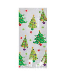 Christmas Trees treat bags pack of 20 large