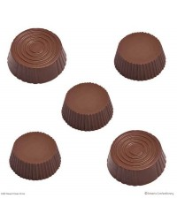 Dessert cups round chocolate mould