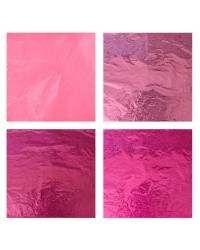 Foil For Wrapping Chocolates 4pk Candy Pinks
