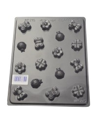 Butterflies Ladybugs and bows deep Truffle chocolate mould