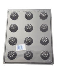 Clusters deep Truffle chocolate mould