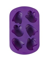 Ghost 6 cavity silicone mould cake pan