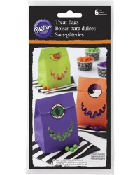 Monster treat bags Pack of 6