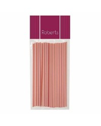 Lollipop sticks 6 inch BABY PINK (25)
