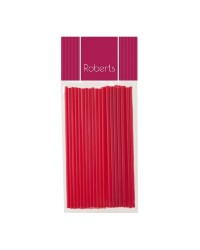 Lollipop sticks 6 inch RED (25)